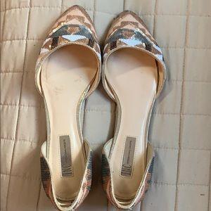 INC Sequin Ballerina Flats. Size 10